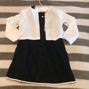 Kids formal dress with a boreal